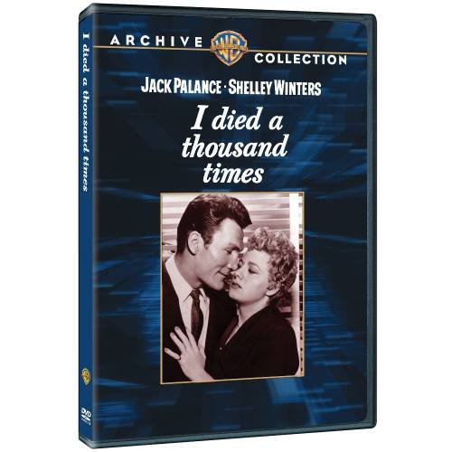 I Died A Thousand Times DVD Movie 1955