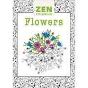 Guild Of Master Craftsman Books Zen Coloring Flowers