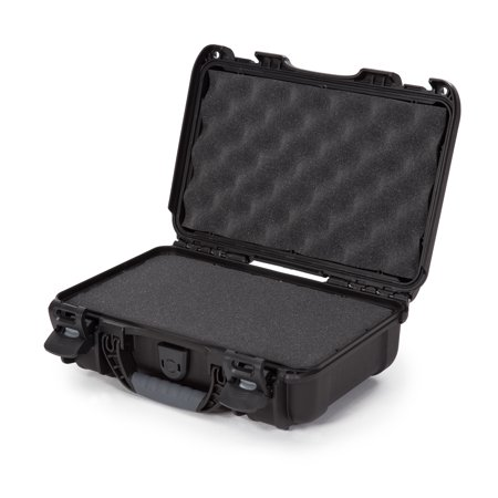 Nanuk 909 Waterproof Professional Pistol/Gun Case, Military Approved with Foam Insert - Black