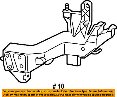 Jeep Chrysler Oem Grand Cherokee Radiator Core Support Bracket Left