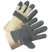 West Chester Glove Size XL Leather Palm Gloves,500DP-AA/XL