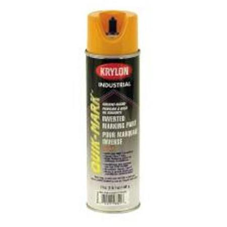 800674 krylon upside down marking paint alert yellow pack for Upside down paint sprayer