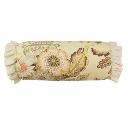 Waverly Graceful Garden Neck Roll Decorative Throw Pillow - Walmart.com