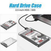 (Only Hard Disk Box !!!)ORICO 2139U3-CR 2TB 2.5 inch External Transparent USB 3.0 SATA 3 HDD SSD Hard Disk Drive Enclosure Storage Case Box