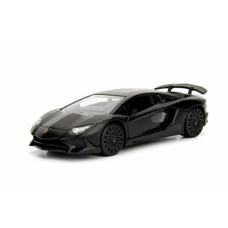 2017 Lamborghini Aventador SV Hard Top, Black - Jada 30112DP1 - 1/32 scale Diecast Model Toy Car (Brand New but NO (Toys R Us 2017 Black Friday Ad)