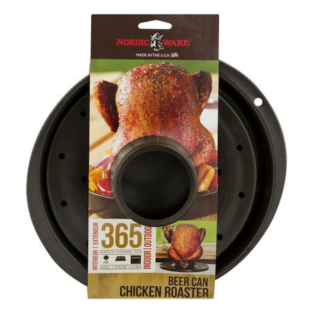 Nordic Ware Indoor/Outdoor Beer Can Chicken Roaster, 1.0 CT - Halloween Chicken Wire Ghost