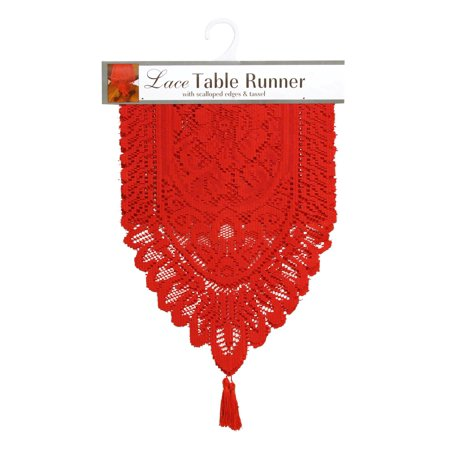 Lace Runner (Ritz Lace Table Cloth Runner, 13 by)