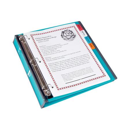 staples better presentation ring binder letter for 275 sheets