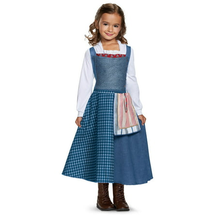 Disney Beauty and the Beast: Belle Peasant Look Classic Child Costume