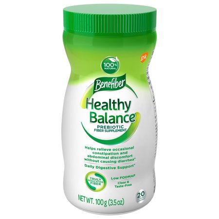 Benefiber Healthy Balance Low FODMAP Prebiotic Fiber Powder, 3.5