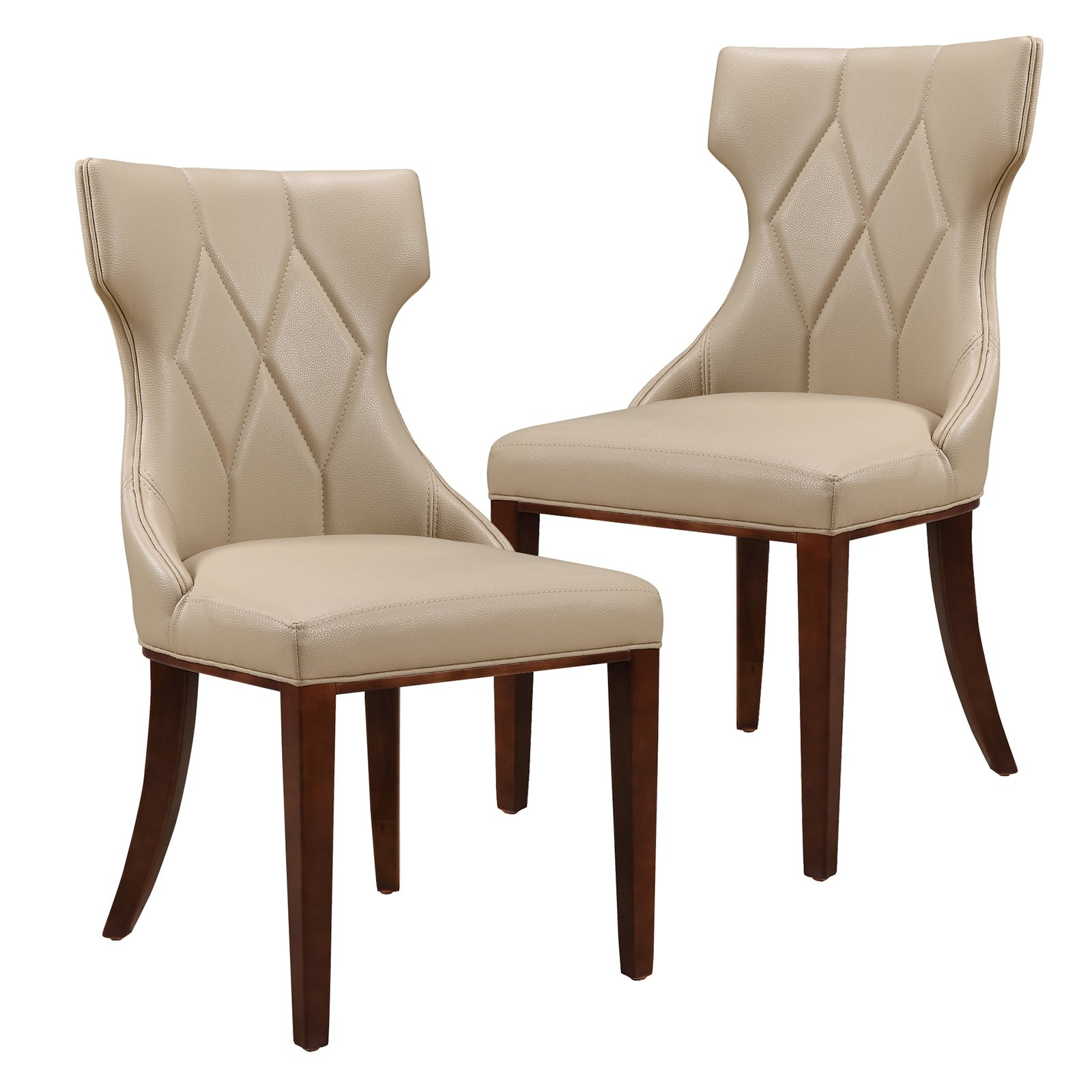 Ceets Reine Leather Dining Chair - Set of 2