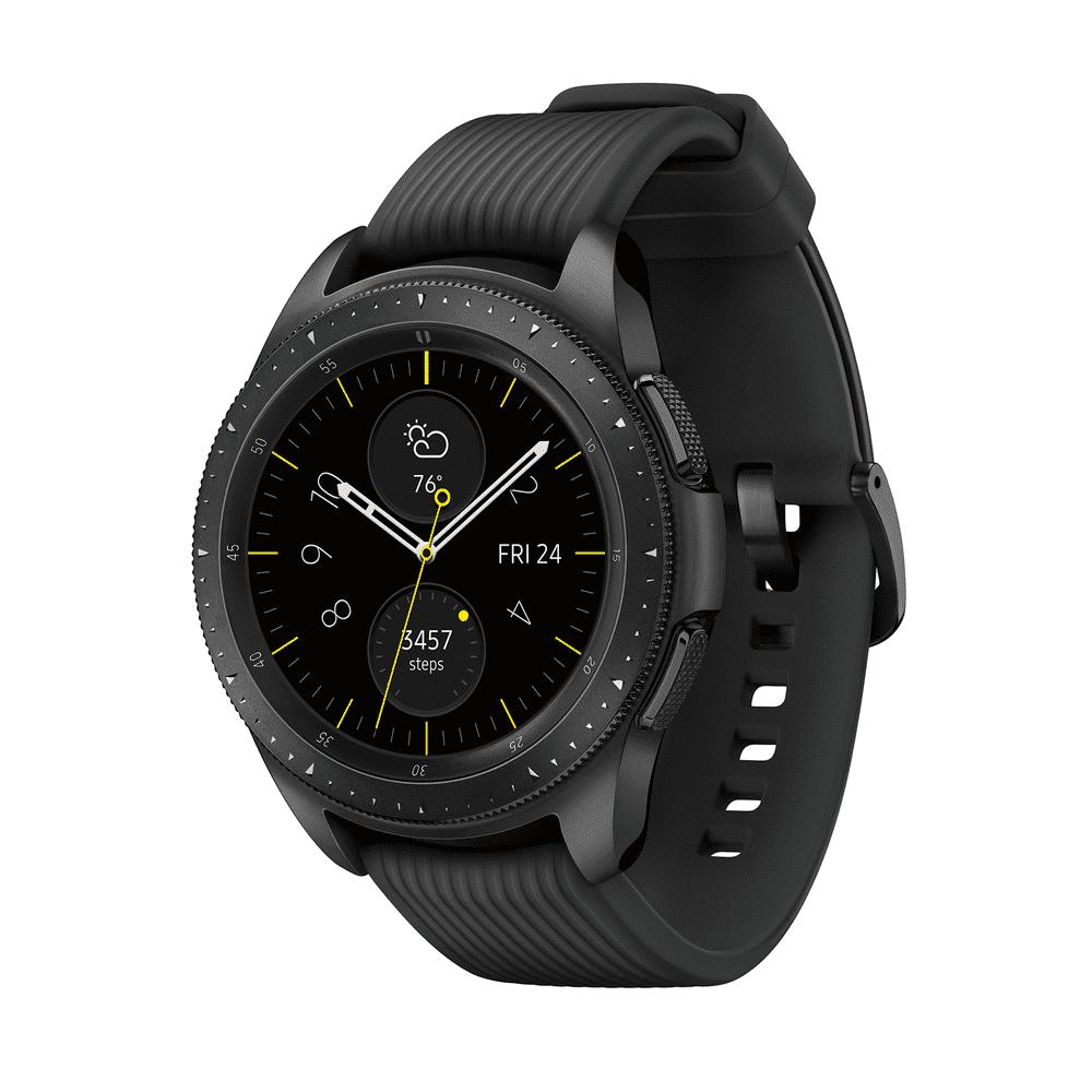 SAMSUNG Galaxy Watch - Bluetooth Smart Watch (42mm) - Midnight Black - SM-R810NZKAXAR