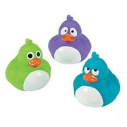 Crazy Rubber Duckies - Party Favors - 12 Pieces