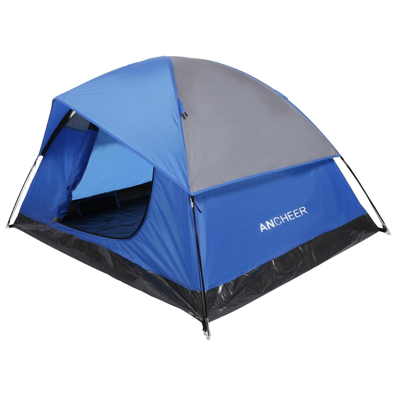 Big Saving for 1-2 Person 4 Seasons Double Layer Backpacking Tent, Freestanding Waterproof Lightweight Family Tent for... by