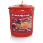 American Home by Yankee Candle Votive, Apple Cinnamon Cider
