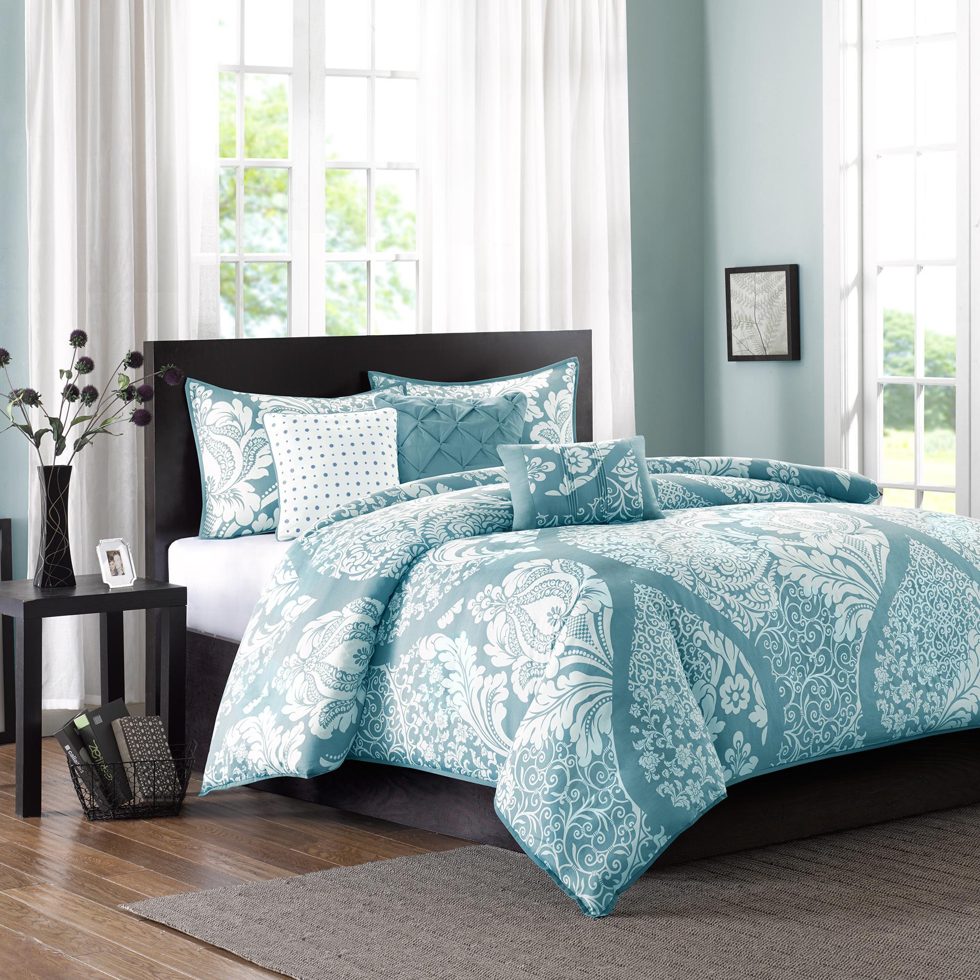 Home Essence Adela 6-Piece Bedding Duvet Cover Set