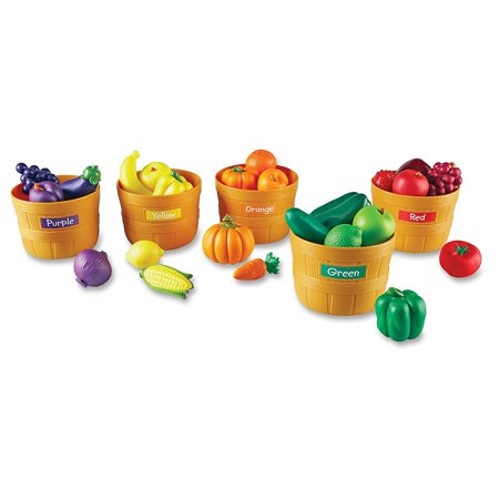 Learning Resources Farmer's Market Color Sorting Set, Ages 18mos and