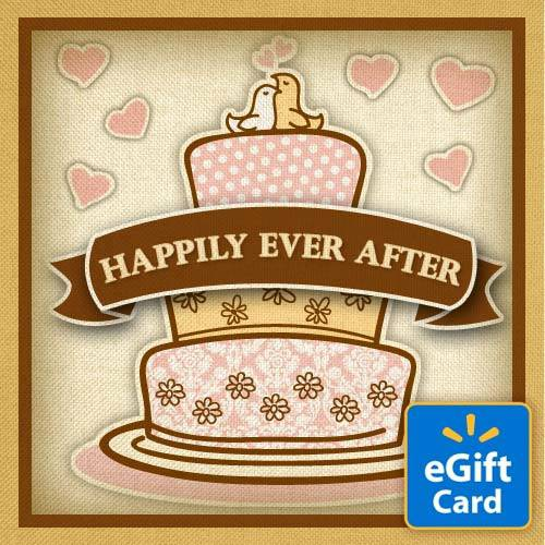 Happily Ever After Walmart eGift Card
