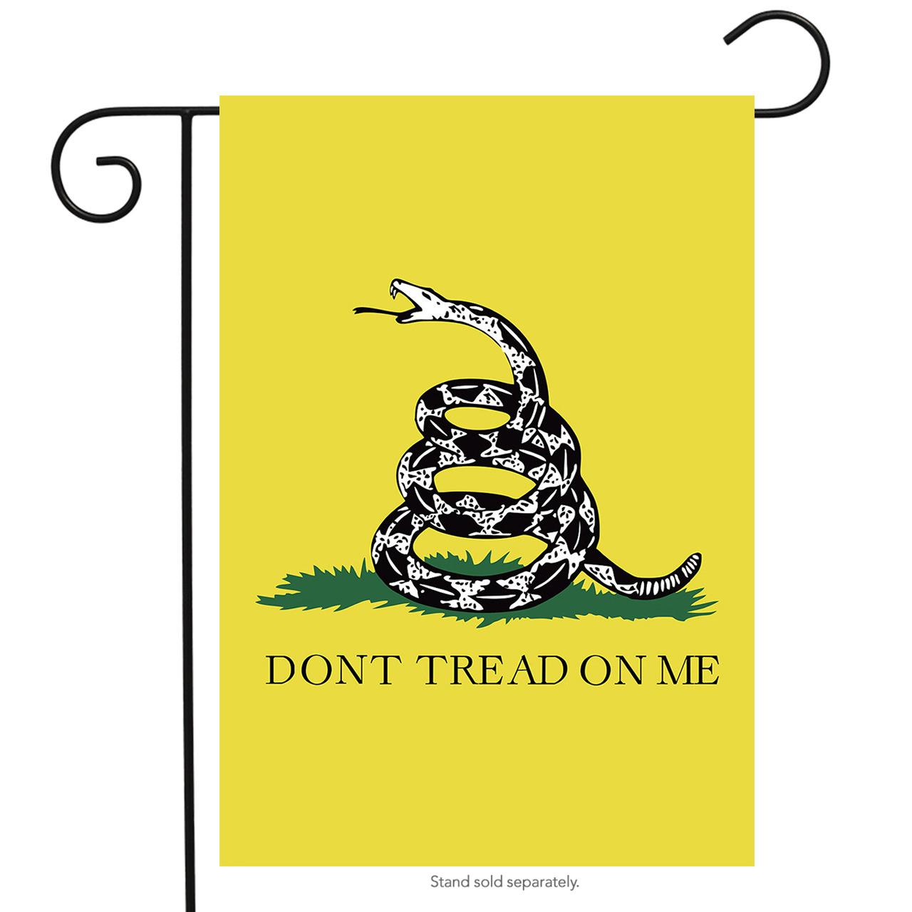"Don't Tread on Me Garden Flag Gadsden Patriotic 12.5"" x 18"" Briarwood Lane"