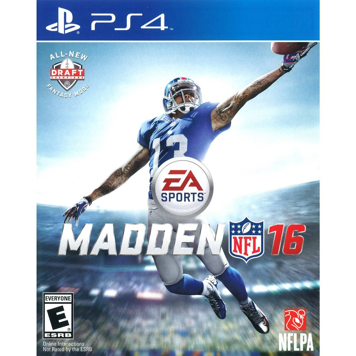 Madden NFL 16, Electronic Arts, PlayStation 4, 014633733808