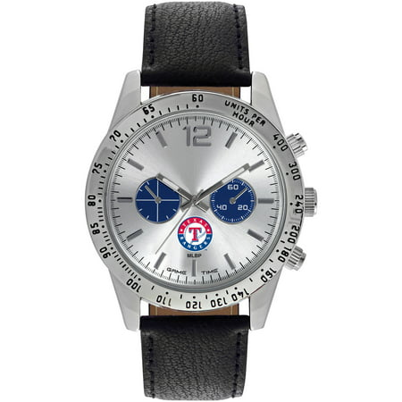 Game Time MLB Mens Texas Rangers Letterman Series Watch by