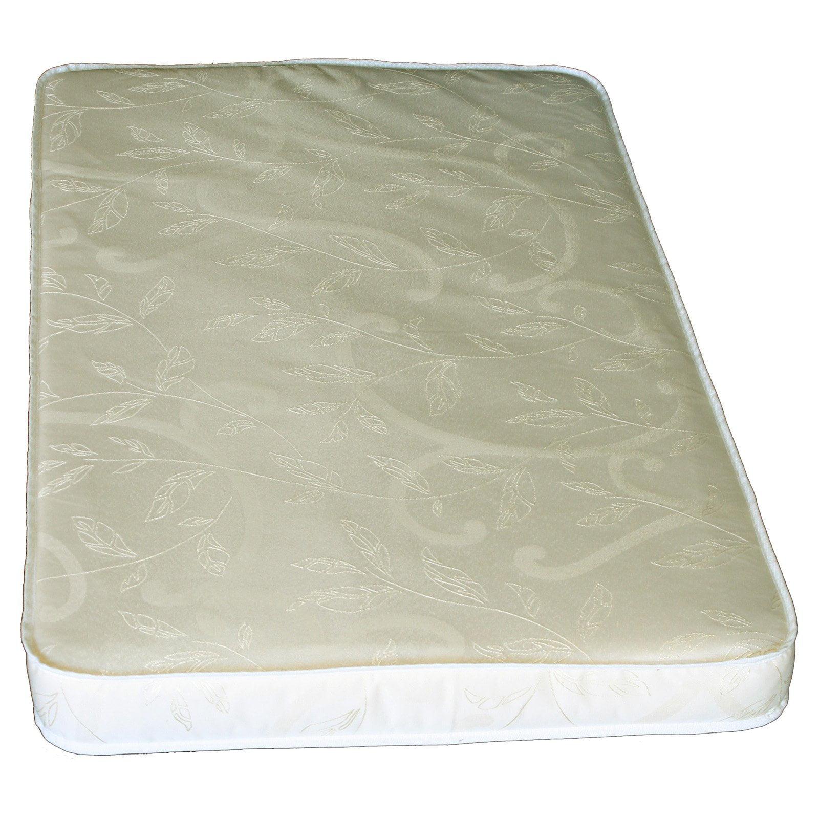 Colgate EcoPad Eco-Friendlier 3 in. Portable Crib Mattress