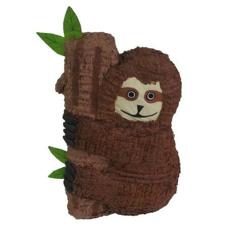 Sloth Pinata, Jungle Party Game and Decoration, 24