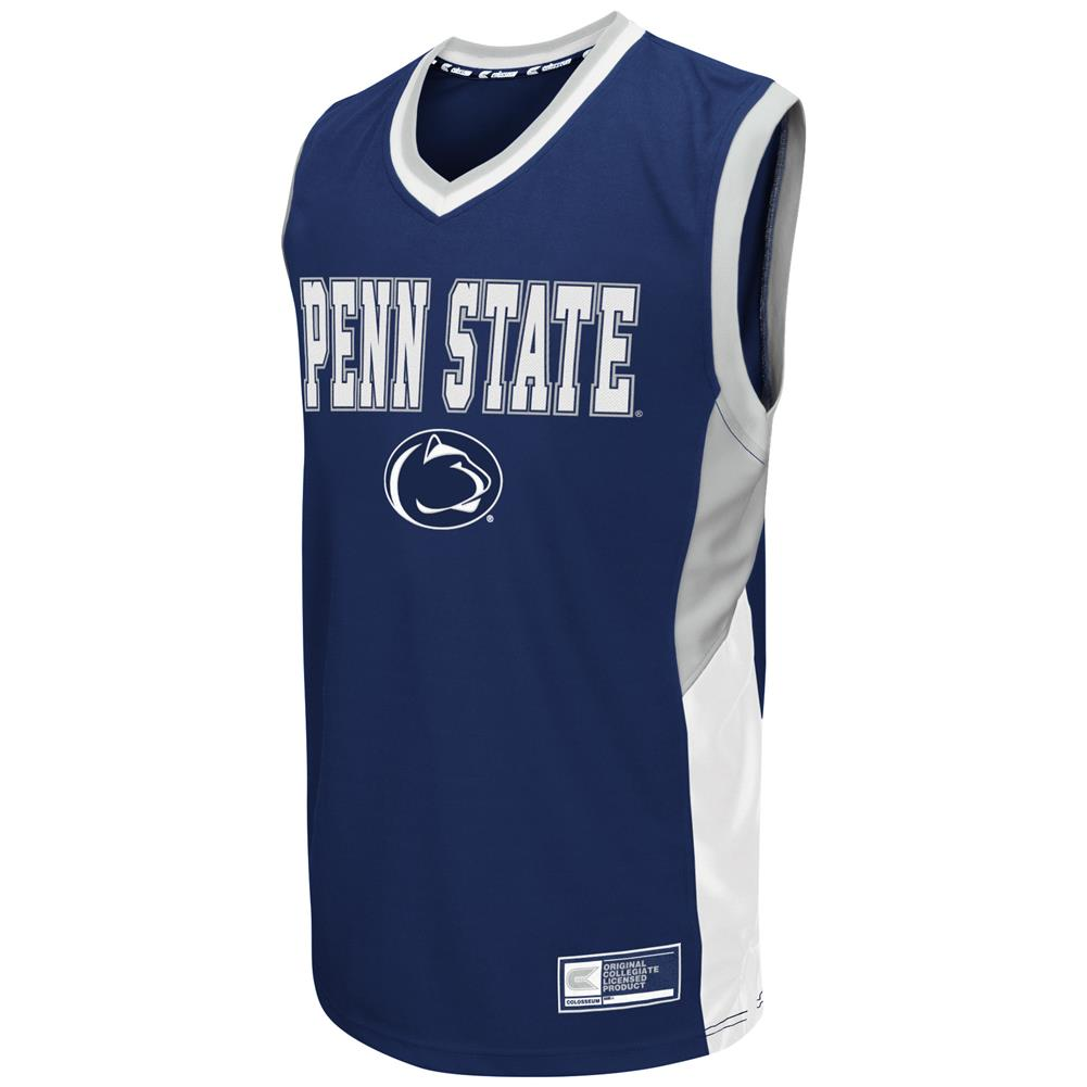 Penn State University Men's Fadeaway Basketball Jersey