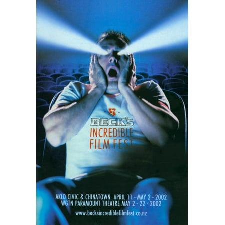 Becks Incredible Film Fest Movie Poster Print  27 X 40