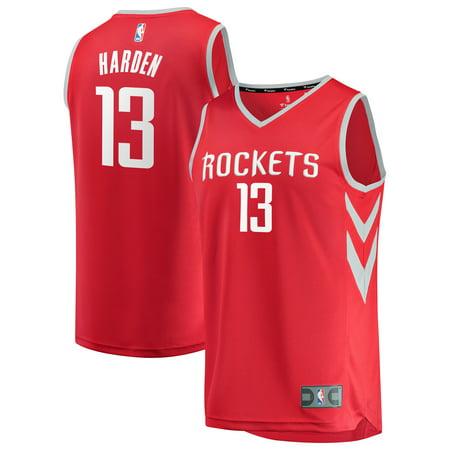 Houston Rockets Youth Jersey (James Harden Houston Rockets Fanatics Branded Fast Break Replica Jersey Red - Icon Edition)