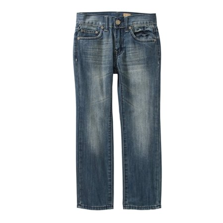 Tokyo Five Boys' Straight Leg Fashion Denim With Embellished Back Pockets