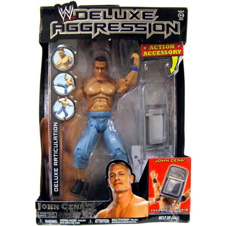 WWE Wrestling Deluxe Aggression Best of 2009 John Cena Action