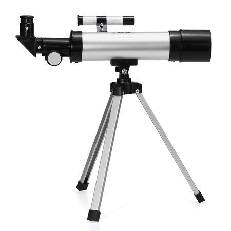 Outdoor HD 90X Zoom Telescope 360x50mm Refractive Space Astronomical Telescope Monocular Travel Spotting Scope with Tripod - image 4 de 7
