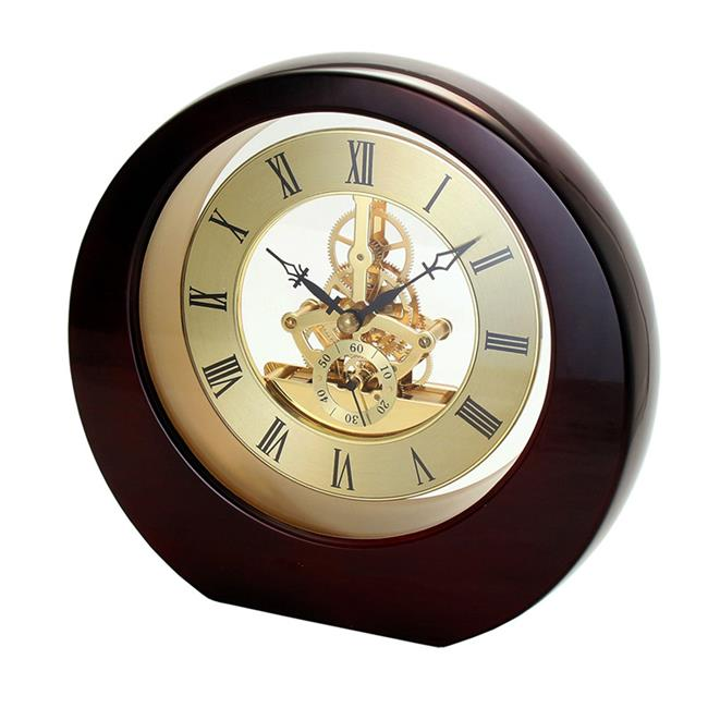 Natico Originals 10-5388M Interactive Gear Clock, Mahogany
