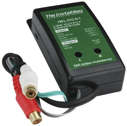 Install Bay Ibloc02 80-watt 2-channel Adjustable Level Converter