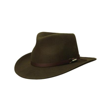 Woolrich - Crushable Wool Felt Outback Hat - Walmart.com f66773ec00db