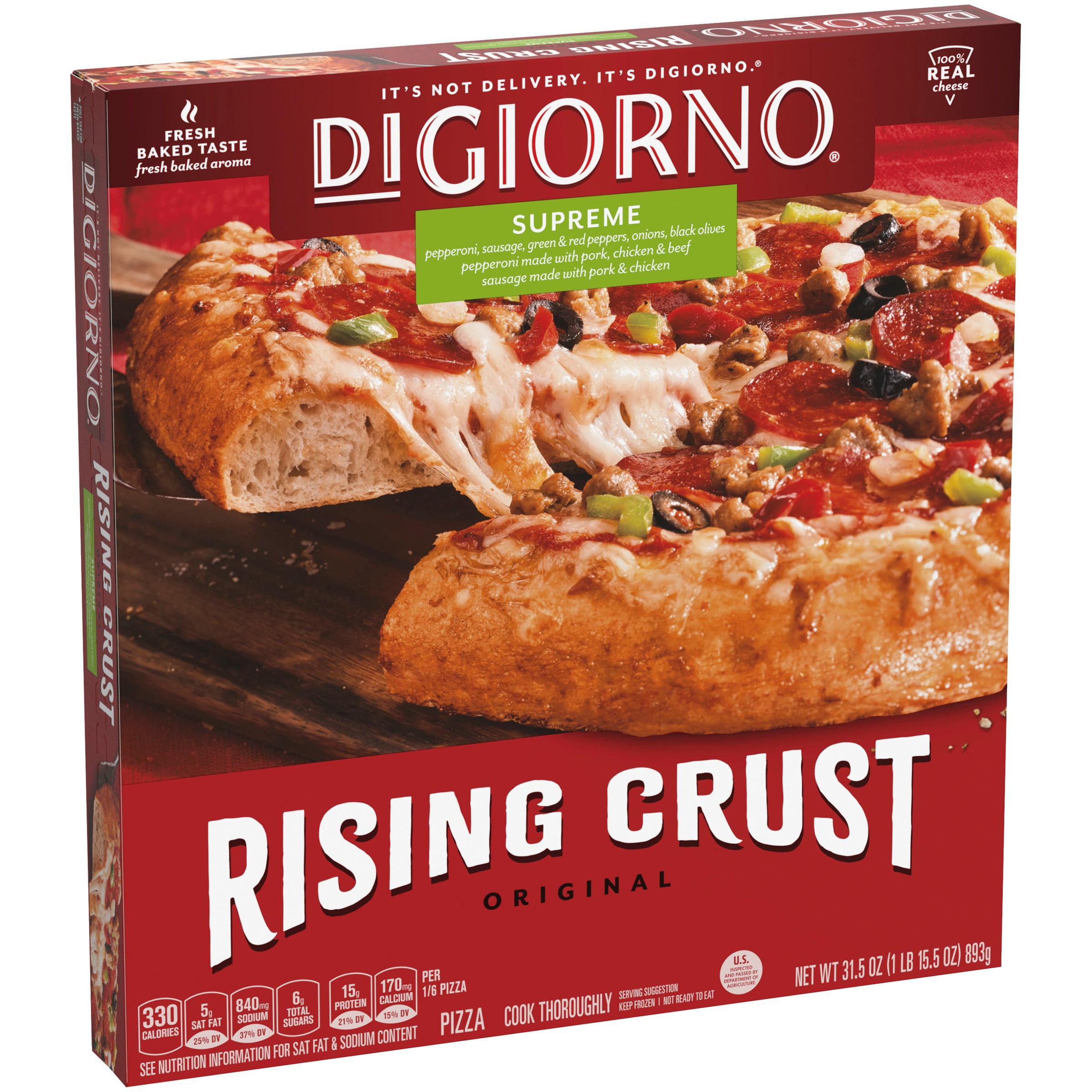 DIGIORNO Original Rising Crust Supreme Frozen Pizza 31 5 Oz  Box