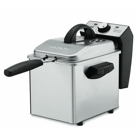 Waring DF55 Professional Mini 1-2/7-Pound Deep Fryer, Stainless (Refurbished)