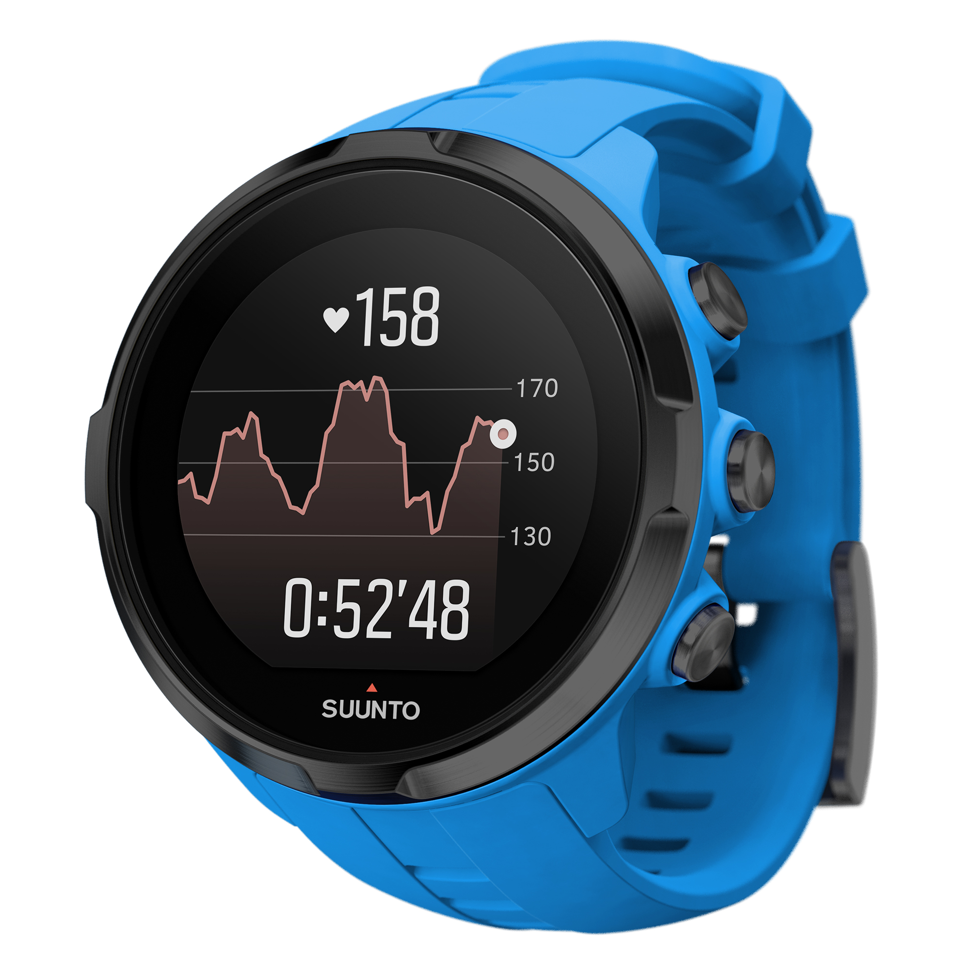 Suunto Spartan Sport Wrist HR Watch, Blue by Suunto