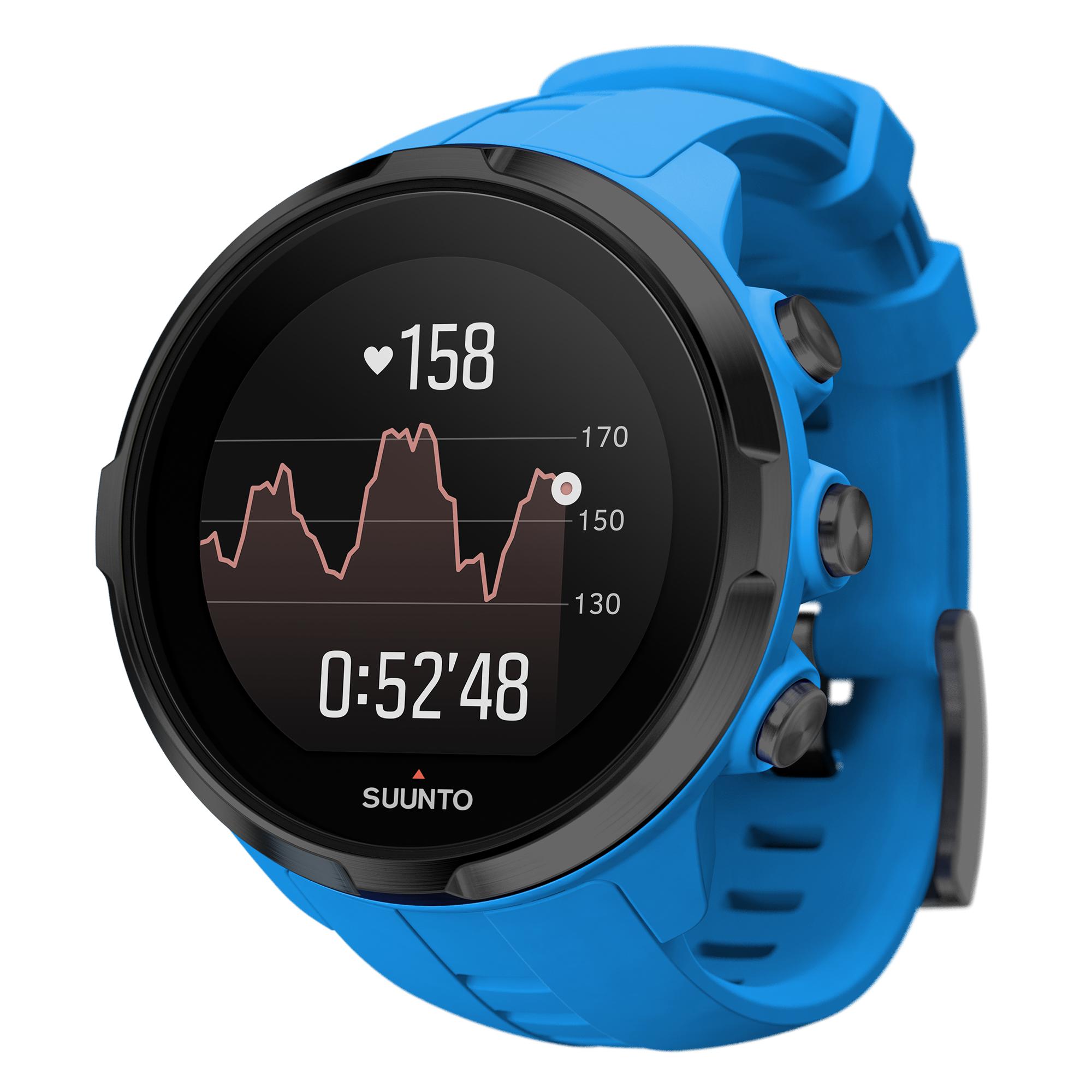 Suunto Spartan Sport Wrist HR Watch, Blue