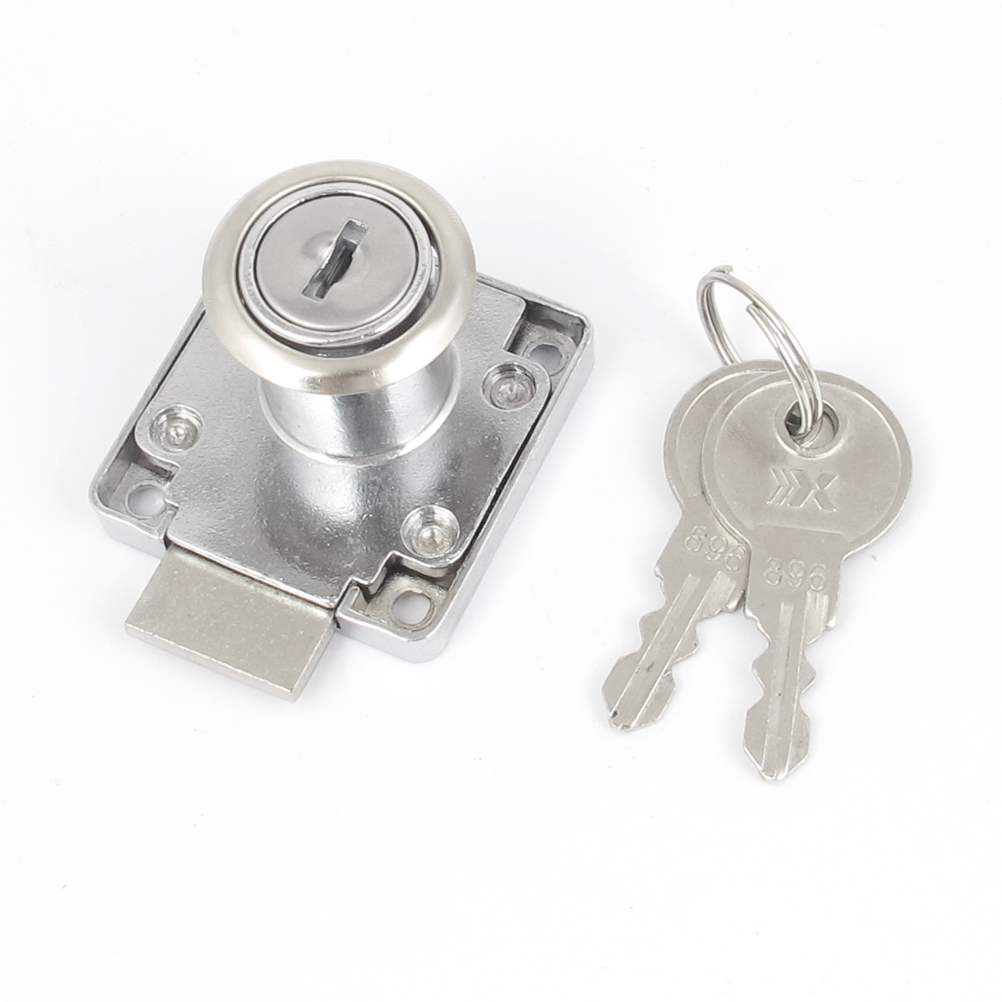 Wardrobe Mailbox Drawer Safe Tubular Cylinder Cabinet Lock and Key 19x22mm