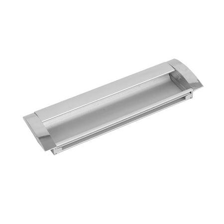 128mm Hole Spacing Aluminum Invisible Recessed Rectangular Flush Pull Handle