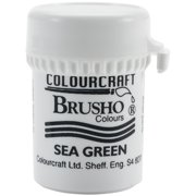 Brusho Crystal Colour 15g-Sea Green