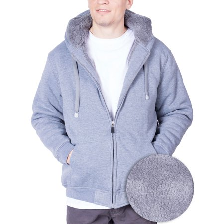 Mens Hoodie For Mens Fleece Jacket Big And Tall Zip Up With Hood (XXXXX-Large, (Fox Mens Sweatshirt)