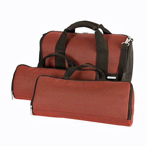 Travelon Wine Travel Case in Burgundy