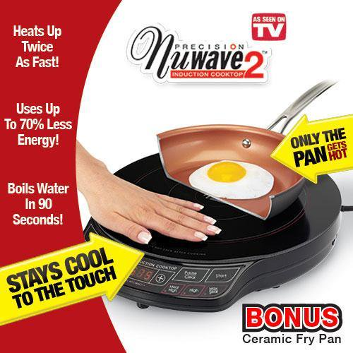 As Seen On Tv Nuwave Induction Cooktop