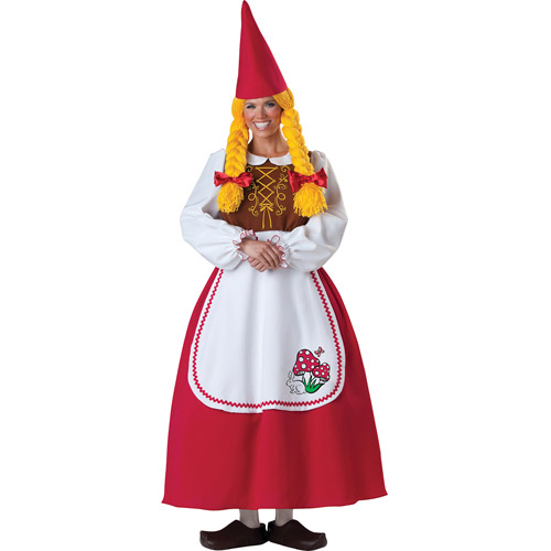 Brand New Ms Gnome Adult Costume