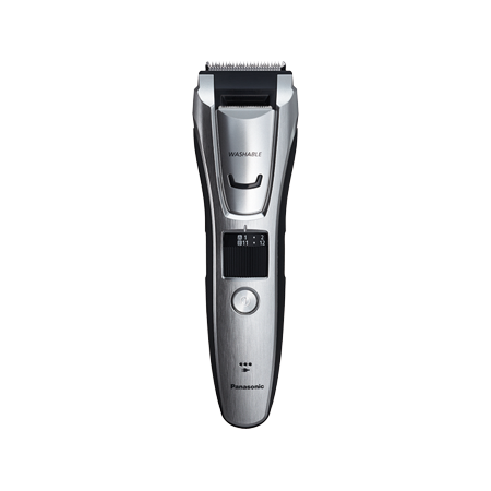 Panasonic ER-GB80-S Men's All-in-One Electric Trimmer for Beard, Hair & Body with Three Comb Attachments (Mens Beard And Body Trimmer)