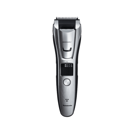 Panasonic ER-GB80-S Men's All-in-One Electric Trimmer for Beard, Hair & Body with Three Comb (Best Male Body Hair Trimmer)