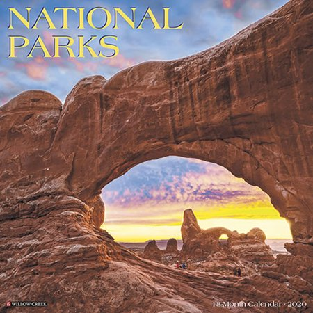 Willow Creek Press 2020 National Parks Wall Calendar ()